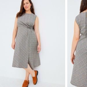 Anthropologie NWT Reese Plaid Maxi Dress  Size 18W